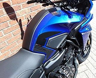 Protector de Dep/ósito Adhesivo 3D Compatible con Yamaha Tenere 700 2019 Amarillo
