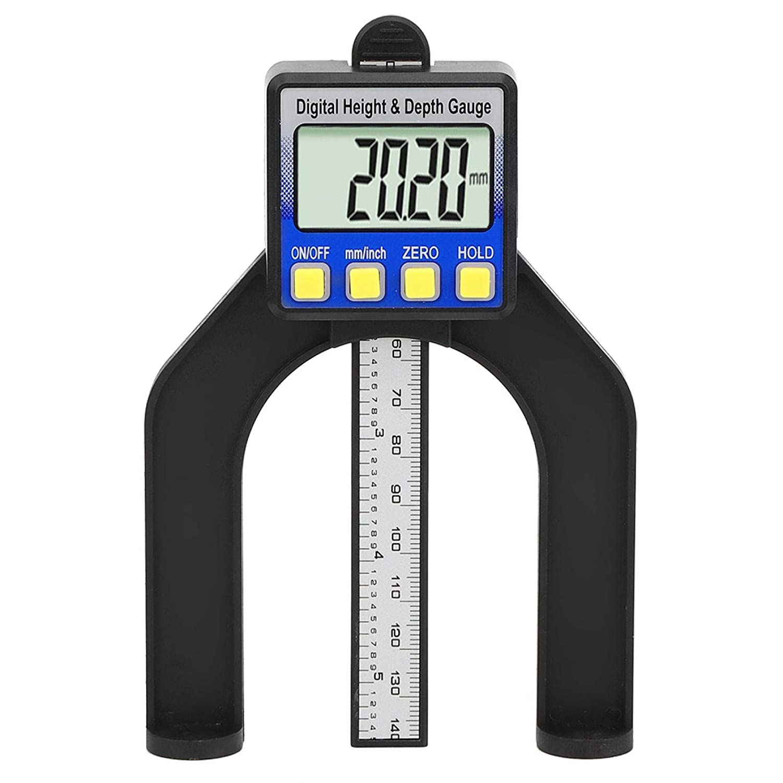 Depth Gauge Popular standard Adjustable Magnetic with Table LCD S Manufacturer direct delivery Screen Digital