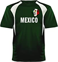 Custom Mexico Soccer Ball 1 Jersey Personalized with Your Names and Numbers