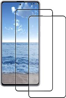 LPCJ [2-pack] för Samsung Galaxy A51 5G skärmskydd, Samsung Galaxy A51 5G skärmskydd i härdat glas, skärmfilm för Samsung ...