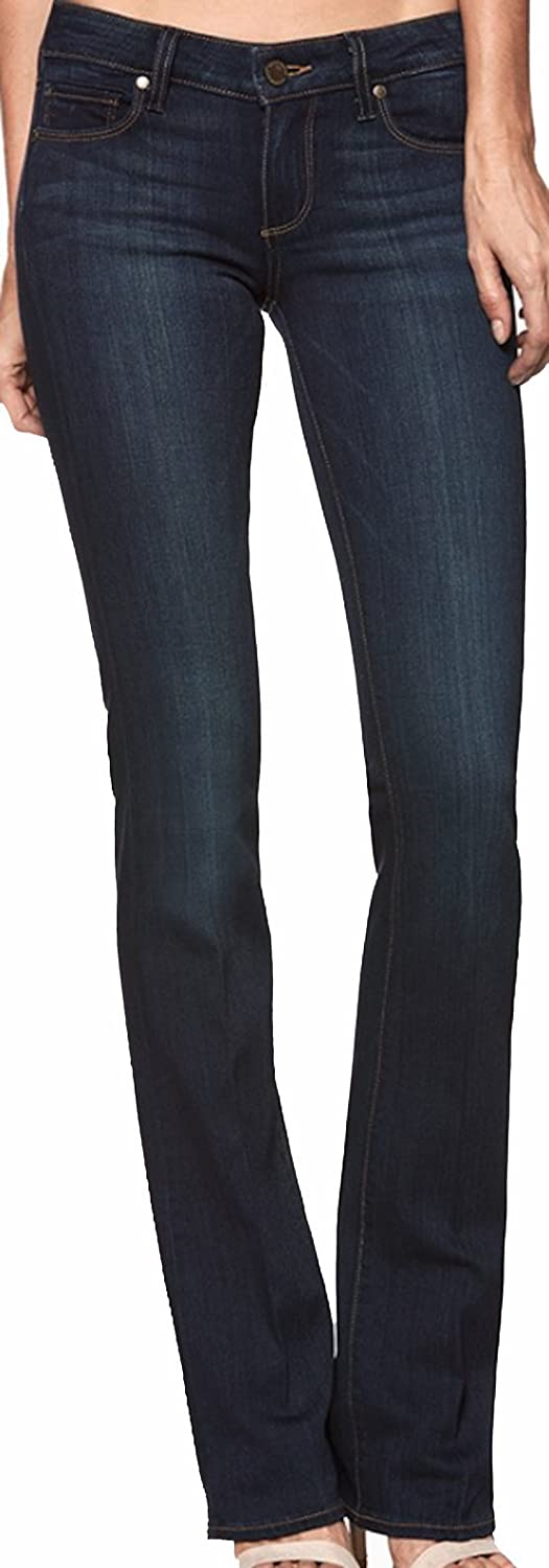 Paige Women's Jean Manhattan Boot Armstrong Midrise Slim Bootcut Jeans 1457521 2144 bluee