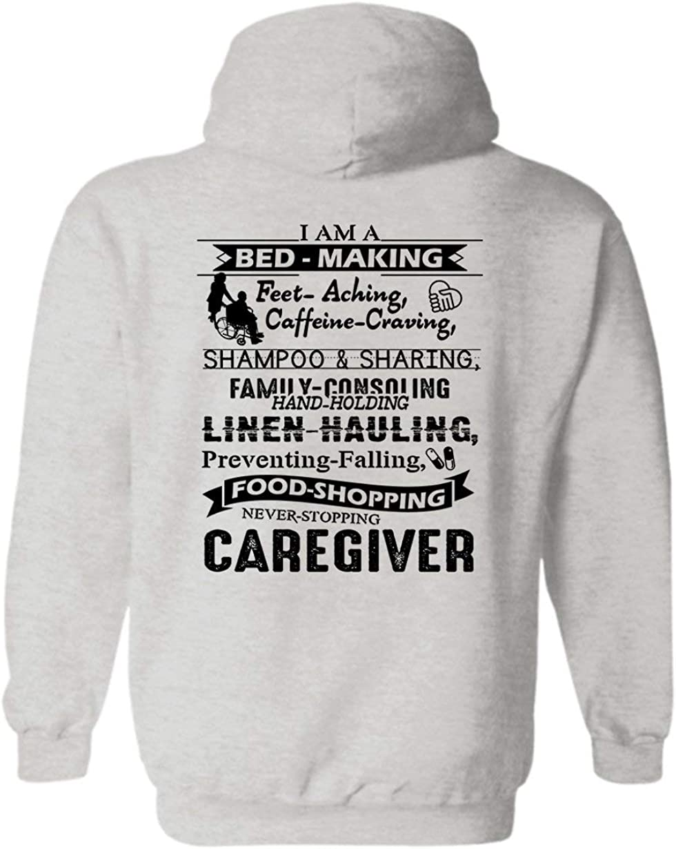 I Am A Challenge the lowest price Mail order of Japan ☆ Caregiver Cool Sweatshirt Gift Hoodies Hooded