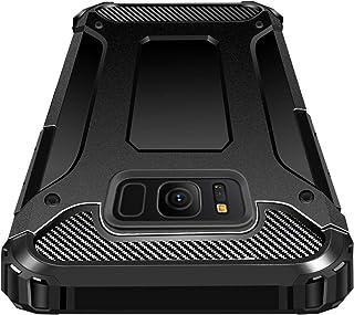 SAMSUNG Galaxy S8 ケース 耐衝撃360全面保護 超耐久落下防止 米軍MIL規格 TPU+PC アイフォン X ケース アイフォンカバー 衝撃吸収 防塵 クリアな裏面 脱着簡単 感が良い 取り出し易いスマホケース 耐摩擦 擦り傷...