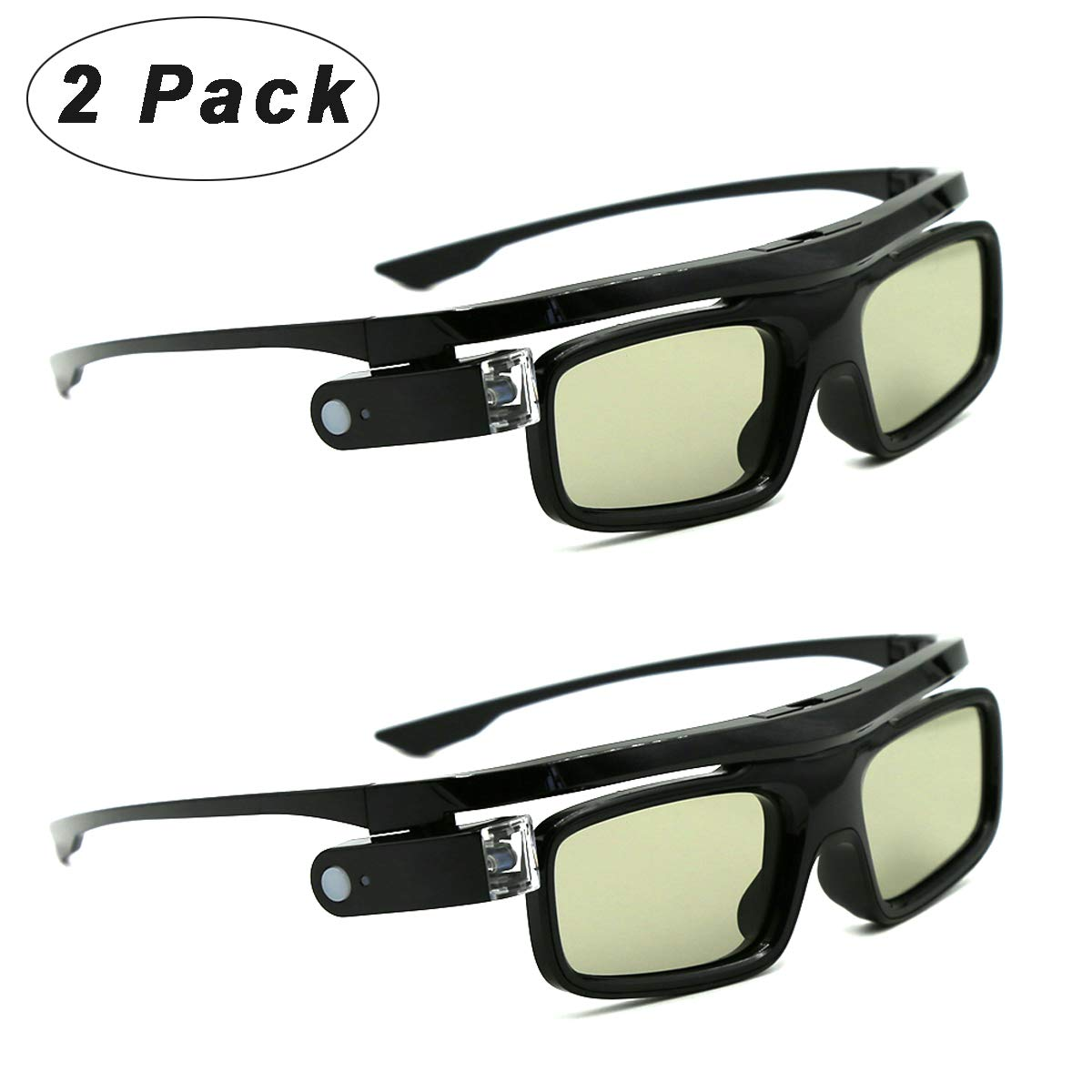 Glasses Shutter Rechargeable DLP Link Projectors