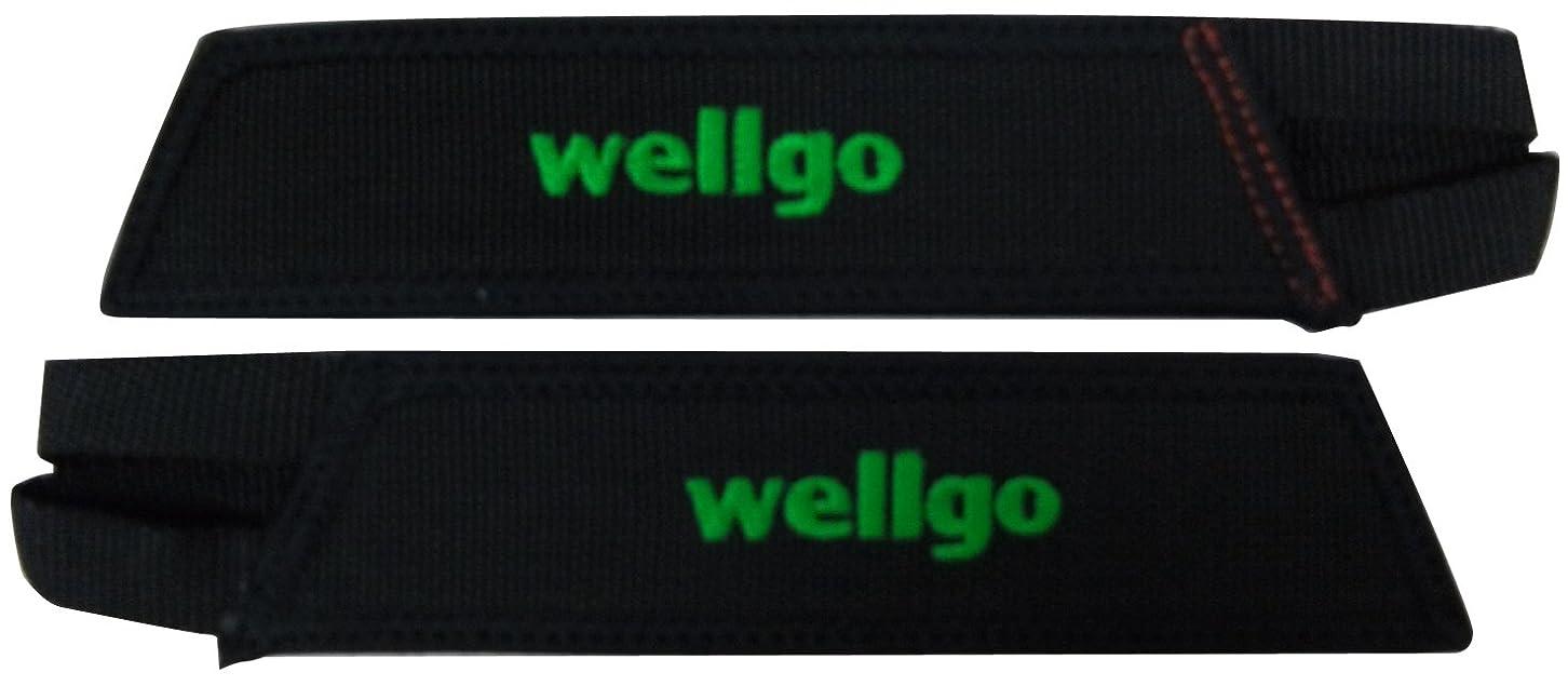 慣れている入力ラウンジwellgo(ウェルゴ) W-8 ナイロントークリップレスWトーストラップ ブラック W-8