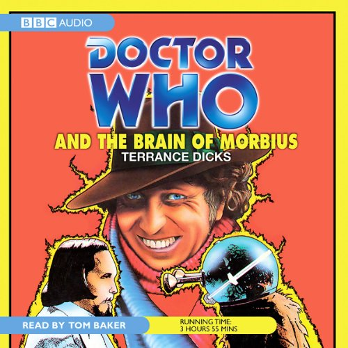 Doctor Who and the Brain of Morbius  audiobook cover art
