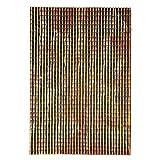 Rossi Pink Art. Code-10755 Pannelli Plastica Tessere Tetto Piccole Dimensione 35 x 50 cm, Colore Rosso, Taglia Unica