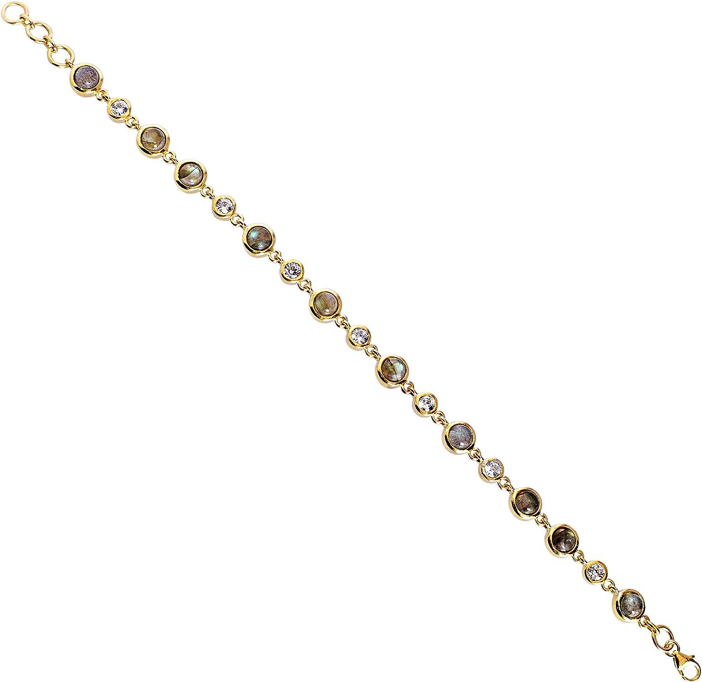 Ravishing Impressions Labradorite Crystal Quartz Gemstone 70% Financial sales sale OFF Outlet 925