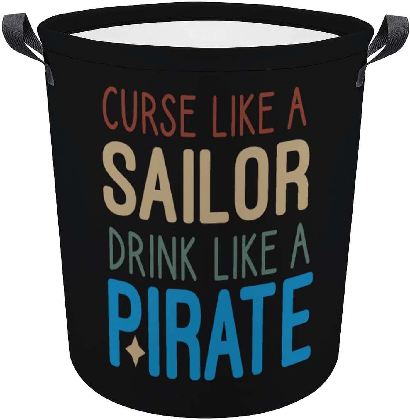 Curse High quality Like A online shopping Sailor Drink Pirate Quote Funny Gift Oxford Laundry
