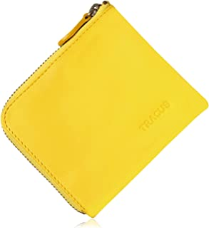 [TRACUS] 小銭入れ レディース コインケース L字ファスナー 本革 財布 ミニ財布 薄型 小さい財布