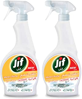Jif Ultrafast Kitchen Spray, 500 ml (Pack of 2)