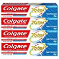 Colgate Total Whitening Toothpaste Gel - 4.8 ounce (4 Pack)