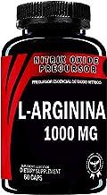 L-Arginina 1000 mg | 60 capsulas | Precursor Oxido Nítrico