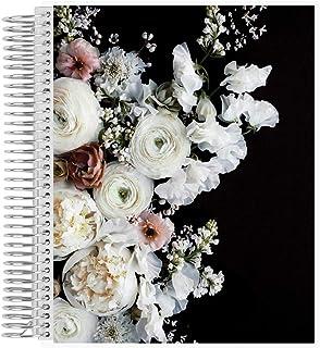 $47 » Green Wedding Shoes x Erin Condren Undated 12-Month Wedding Planner - Midnight Blooms - Includes Undated Calendar Spreads,...