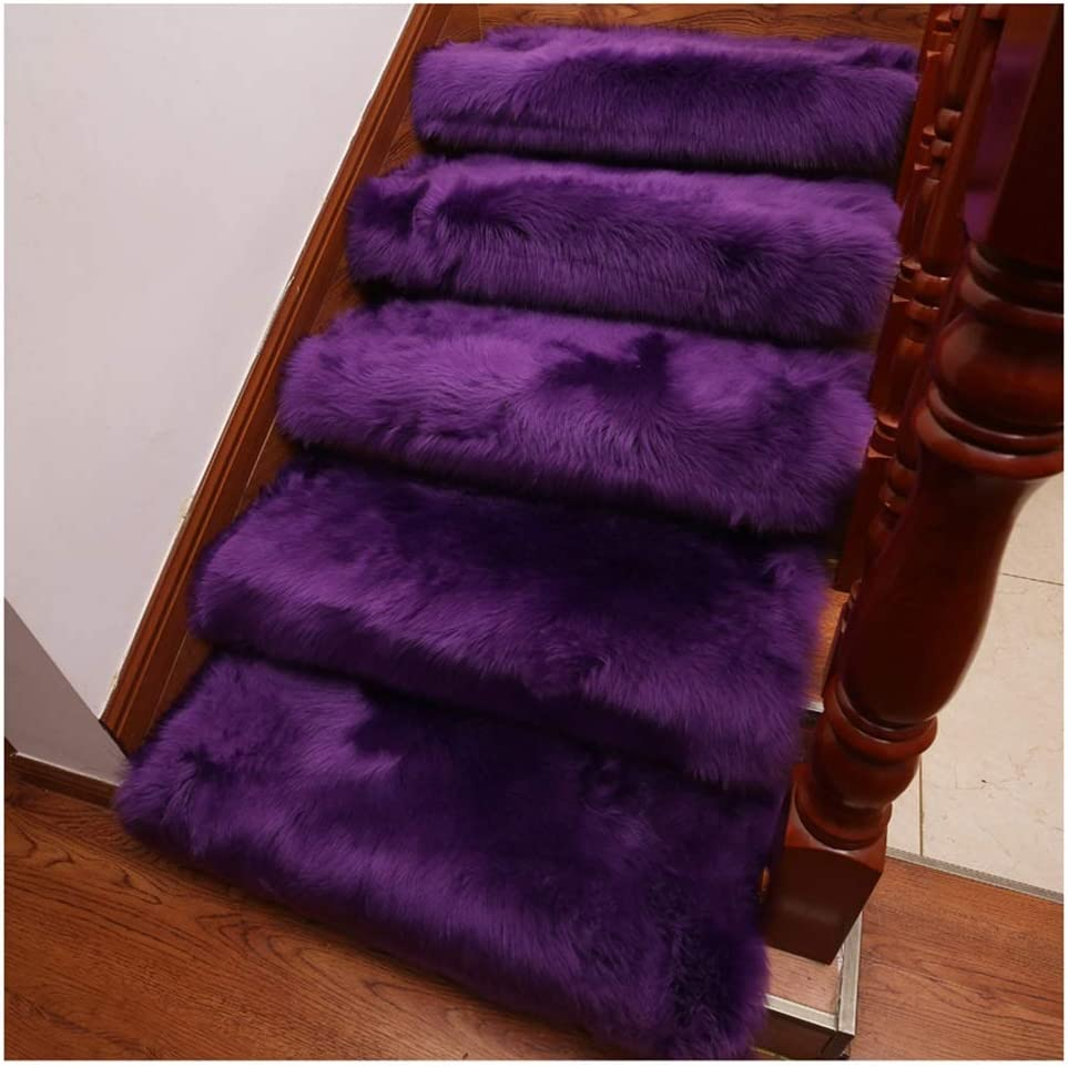 Stair Treads Carpet 2pcs Mats Shaggy Stairs C Max 90% OFF Our shop most popular Soft