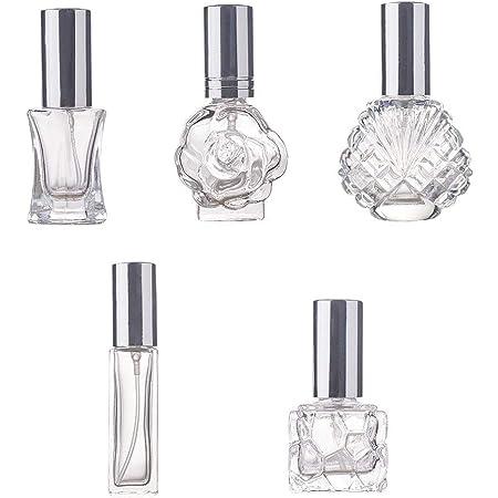 H D 4 Stück Vintage Nachfüllbare Parfümflaschen Glas Leere Sprühflasche Hochzeit Dame Geschenke Beauty