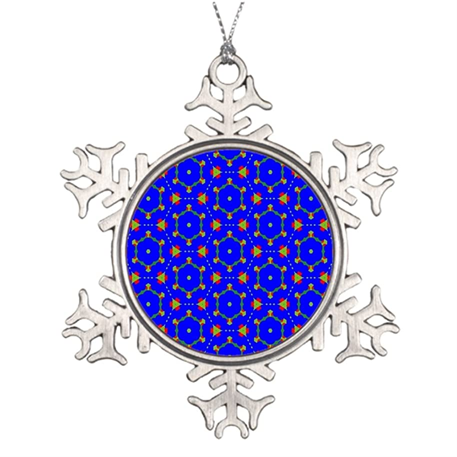 eye-top Swag Personalised Christmas Tree Decoration Fashion Vintage Snowflake Ornament