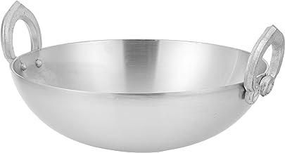 Raj Aluminum Kadai , Silver-RAK002