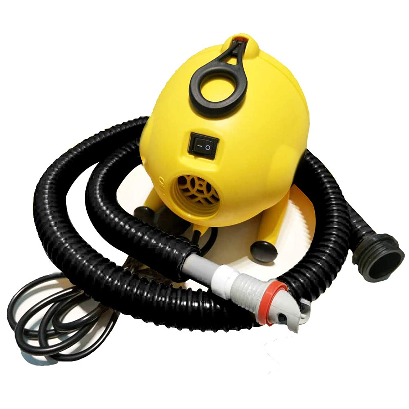 AIRMAT FACTORY Electric Air Pump - Portable 120 V Bravo Electric Pump for Inflatables, Air Track Pump, Stand Up Paddle Board Pump, Kayak and Tents Pump