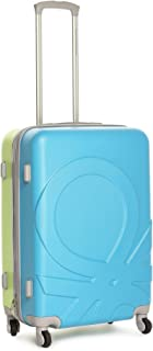 United Colors of Benetton Dual Color ABS 60 cms Green Hardsided Check-in Luggage (0IP6MP24HL01I)