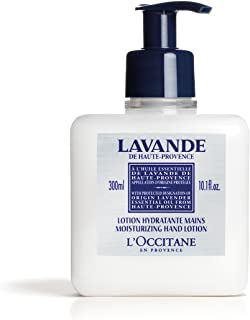 L'Occitane Lavender Moisturizing Hand Lotion Enriched with Shea Butter and Relaxing Lavender Essential Oil