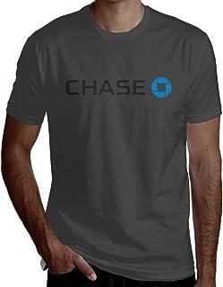 XEERAS Man JPMorgan Chase Bank Logo Combed Crewneck Short-Sleeve T-Shirt Design Top Tees
