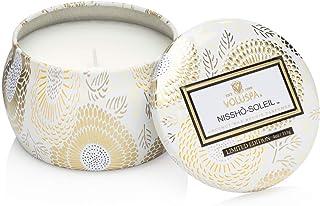Voluspa Nissho Soleil Limited Decorative Mini Tin Candle, 4 Ounce