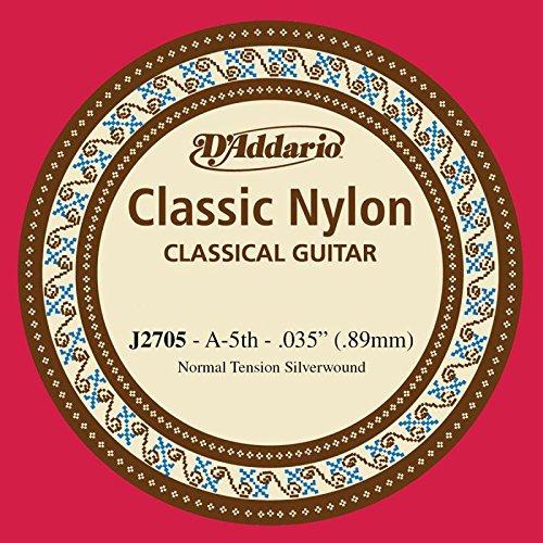 Losse snaren, Spaanse gitaar, serie Classic, nylon, A-5, zilverkleurig