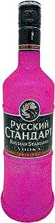 Glitzer Russian Standard Vodka 0,7l 40% Vol - Bling Glitzerflasche Extreme Pink