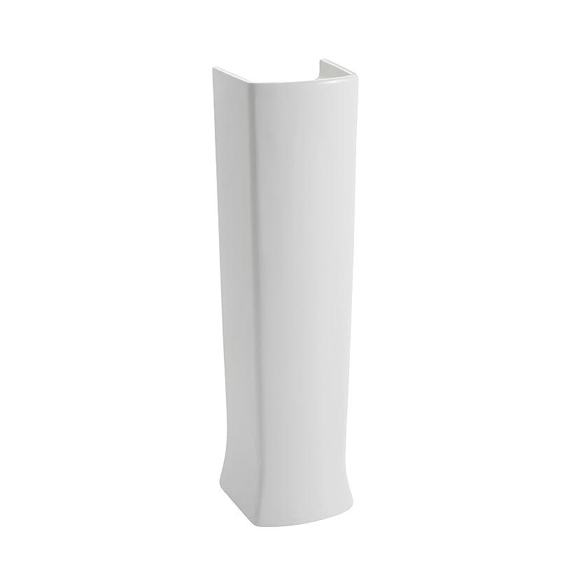 気絶させるアレイバナナAmerican Standard 0039001.020?Townsend Ped Lav leg-wht、ホワイト
