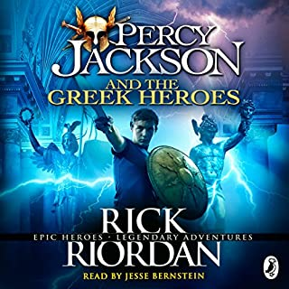 Percy Jackson and the Greek Heroes cover art