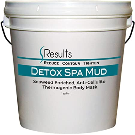 Spa Mud (Seaweed) Body Wrap Detox & Anti-cellulite Slimming Formula - 1 gallon