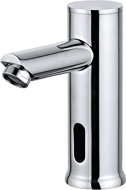 Homssy - Grifo electrónico de lavabo S1, grifo con sensor automático 1 agua (fría)