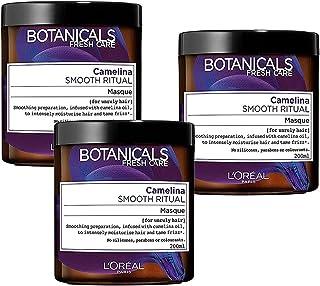 3x LOreal Botanicals Fresh Care Camelina Smooth Ritual Hair Mask 200mL - Hair Care