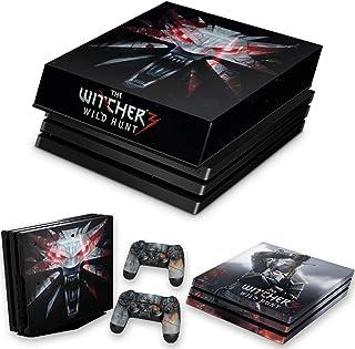 Capa Anti Poeira e Skin para PS4 Pro - The Witcher #A