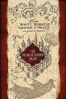 "Harry Potter–映画ポスター/印刷( The Marauder 's Map ) ( Size : 24"" x 36"" ) Unframed"