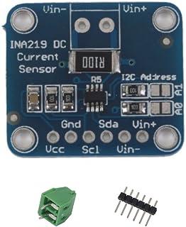 JZK® CJMCU-219 INA219 I2C Interfaz bidireccional Corriente de CC/Monitorización de energía Módulo Sensor para Arduino Rasp...