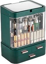 Sieraden doos sieraden opslag make-up organizer cosmetische opbergdoos met spiegel LED Lichte desktop make-up organizer ca...