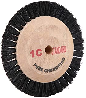 Alucy Polishing Buffing Wheel Brush, Jewelry Jade Bristles Hair Brush Polisher Accessory for Watch Jewelry Tool Accessorie...