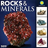 Smithsonian Rocks and Minerals 2019 Wall Calendar