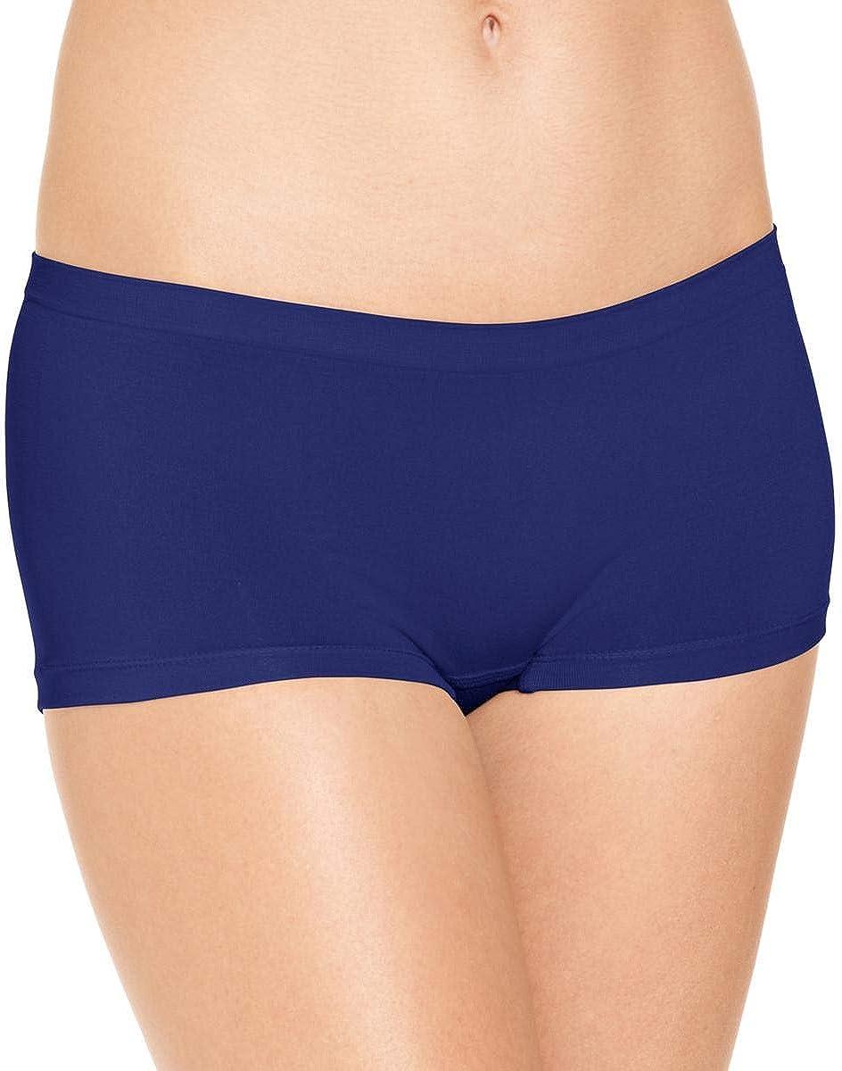 Jenni by Jennifer Moore Womens Underwear Lingerie Boyshort Panty Navy M
