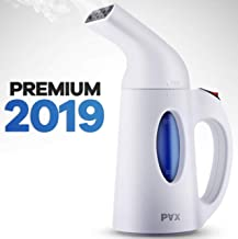 Pax Steamer For Clothes, Travel and Home Handheld Garment Steamer, 60 Seconds Heat-Up, Fabric Steamer With Automatic Shut-off Safety Protection, 140milliliter , White