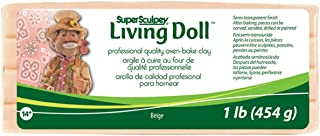 Sculpey Super Living Doll Clay, 1-Pound, Beige