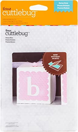 "Cricut 2002784 Cuttlebug 5""X7"" Embossing Folder-Swiss Dots"