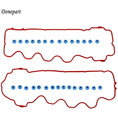 Valve Cover Gasket compatible with Expedition//Navigator 07-14 Set w//Grommets 8 Cyl 4.6L//5.4L Eng.