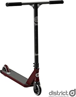 District Coedie Donovan C50R Complete Pro Stunt Scooter - Satin Red/Black
