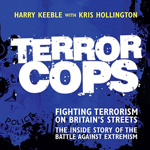 Terror Cops audiobook cover art