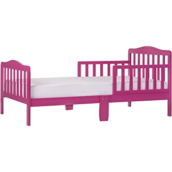 Dream On Me, Classic Design Toddler Bed, Fuchsia Pink