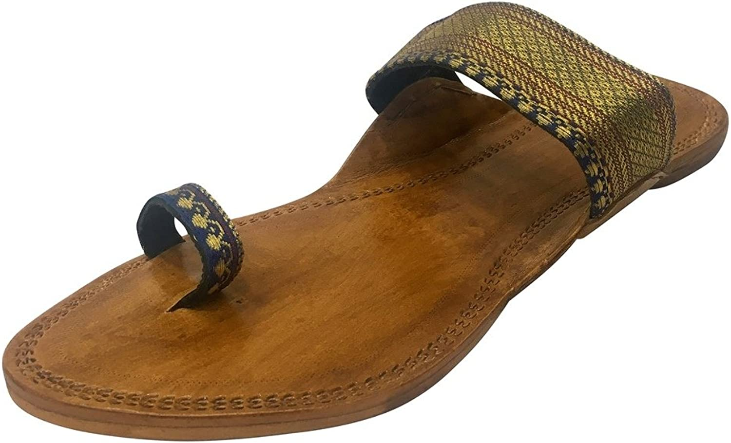Step n Style Ethnic shoes Indian Sandals Kolhapuri Slipper Ladies Indian Leather Chappals Kolhapuri Sandals
