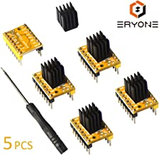 TMC2208 V1.2 Stepper Motor Driver Module with Heat Sink for 3D Printer Mother Boards Reprap MKS Prusa and More (5pcs/Pack)